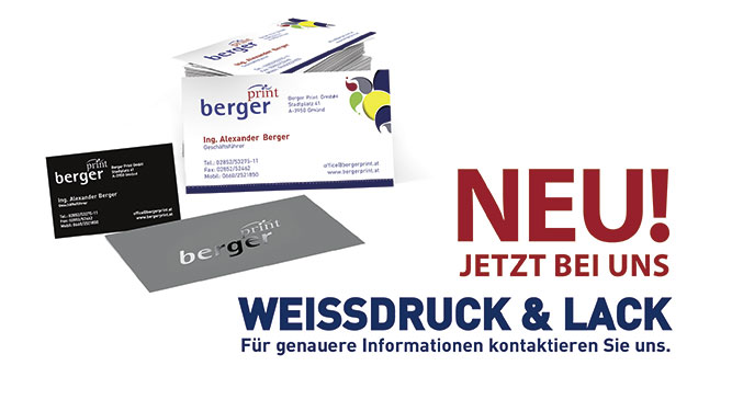 Bergerprint, Druck, Print, Offset, Digital